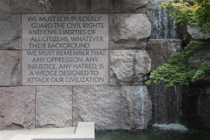 Picture of Franklin Delano Roosevelt Memorial