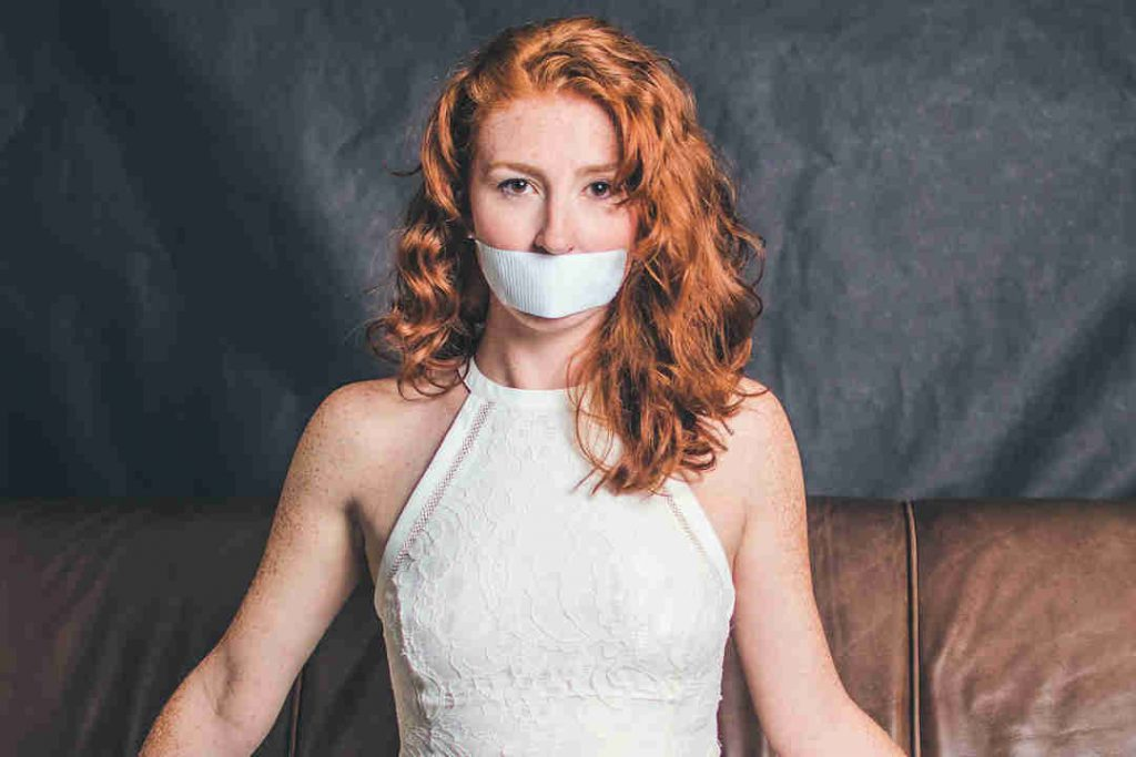 Image of Silenced Woman